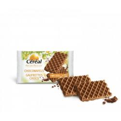 Chocowafels met minder suiker