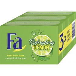 Zeep refreshing lemon trio 3 x 100 gram