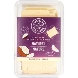 Kokosbrood naturel met honing