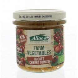 Farm vegetables rucola & kerstomaat