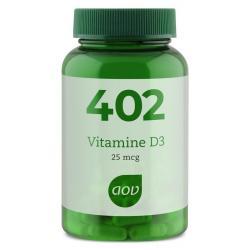 402 Vitamine D3 25 mcg