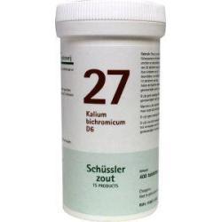 Kalium bichromicum 27 D6 Schussler