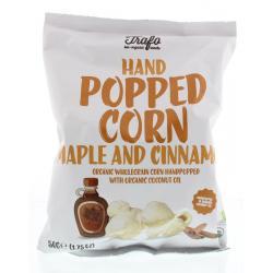 Popcorn maple & cinnamon