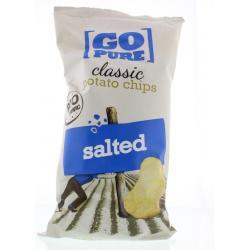 Chips naturel gezouten