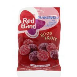 Rood fruit suikervrij