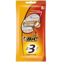 3 Sensitive pouch wegwerpscheermesjes