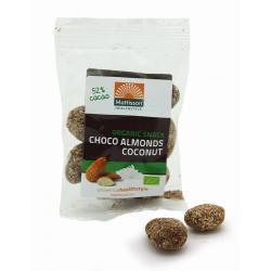 Amandelen snack pure chocolade & cocos