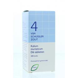 Kalium muriaticum D6 Schussler 4