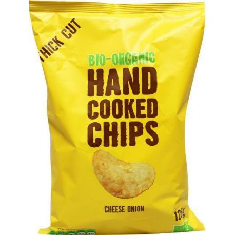 Chips handcooked kaas & ui