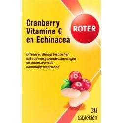 Cranberry vitamine C & echinacea