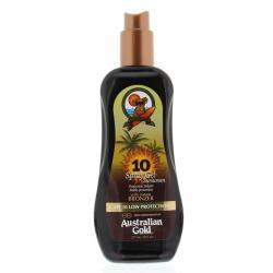 Spray gel met bronzer SPF10