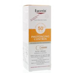 Sun CC cream medium SPF50+