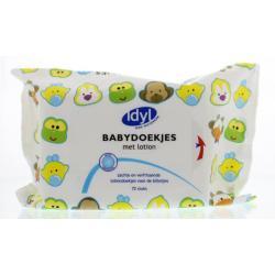 Babydoekjes voordeelbox 4 x 72 stuks