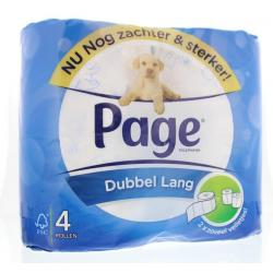 Toiletpapier dubbel lang