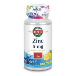 Zink 5 mg citroen ActivMelt