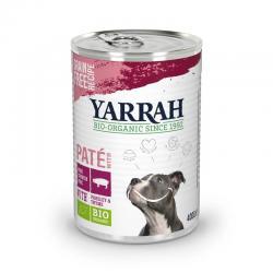Biologisch hondenvoer pate met varkensvlees