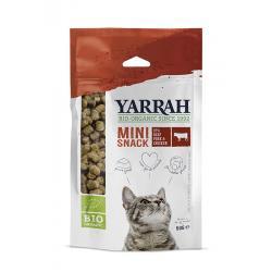Biologische mini snack voor katten