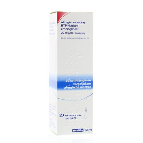 Neusspray natriumcromoglicaat 20 mg