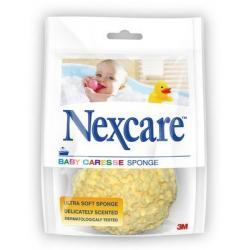 Baby caresse badspons geel latexvrij