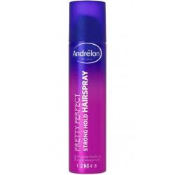 Pink hairspray extra strong hold