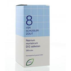 Natrium muriaticum D12 Schussler 8