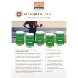 Alkagreens A5 flyer