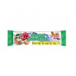 Protein bar cashew cranberry