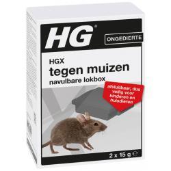 X lokbox tegen muizen & navulling