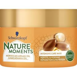 Nature moments haarmask Maroccan argan & macadamia