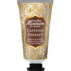 Caffeine therapy hand cream