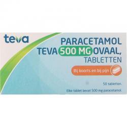 Paracetamol 500 mg ovaal