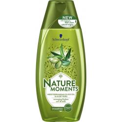 Nature Moments shampoo Mediterran olive&aloe vera