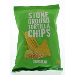Chips tortilla sourcream