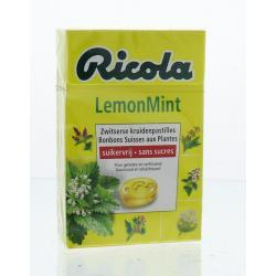 Lemon mint suikervrij