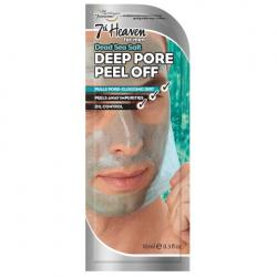 Men deep pore peel off dead sea