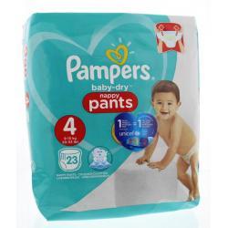Baby dry pants maat 4