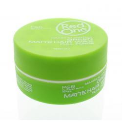 Haarwax matt green