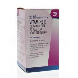Vitamine D 20 mcg 800IE