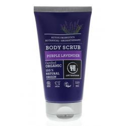 Body scrub purple lavendel