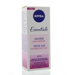 Essentials dagcreme SPF15 droge/gevoelige huid
