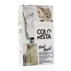 Colorista blond bleach effect 7