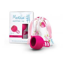Menstruatiecup strawberry roze