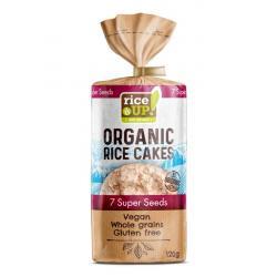 Rijstcracker met 7 super zaden bio