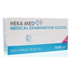 Medical gloves soft nitrile XL