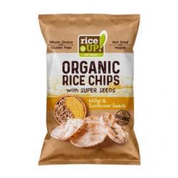 Rijst chips gierst & zonnebloempitten