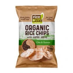 Rijst chips chia & quinoa