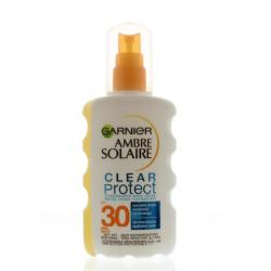 Ambre solaire clear protect BF30 spray