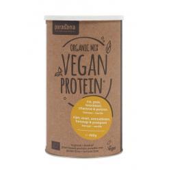Vegan rijst erwt zonnebl pomp hennep proteine bio