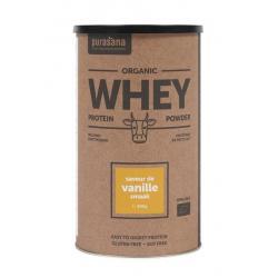 Whey proteine vanille bio