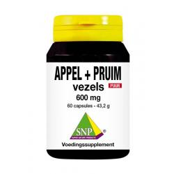 Appel pruim vezels 600 mg puur